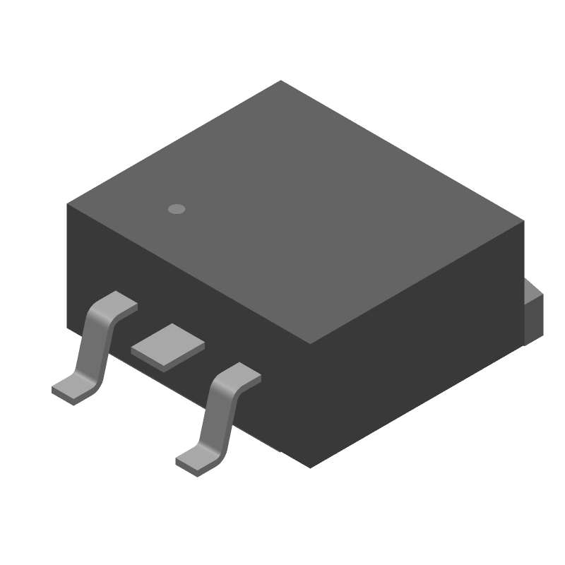 STB120N4LF6 - STMicroelectronics - 3D model - Other - D2PAK_2020
