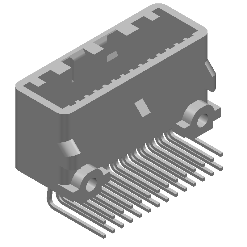 1565373-7 - TE Connectivity - 3D model - Other - 1565373-7-4