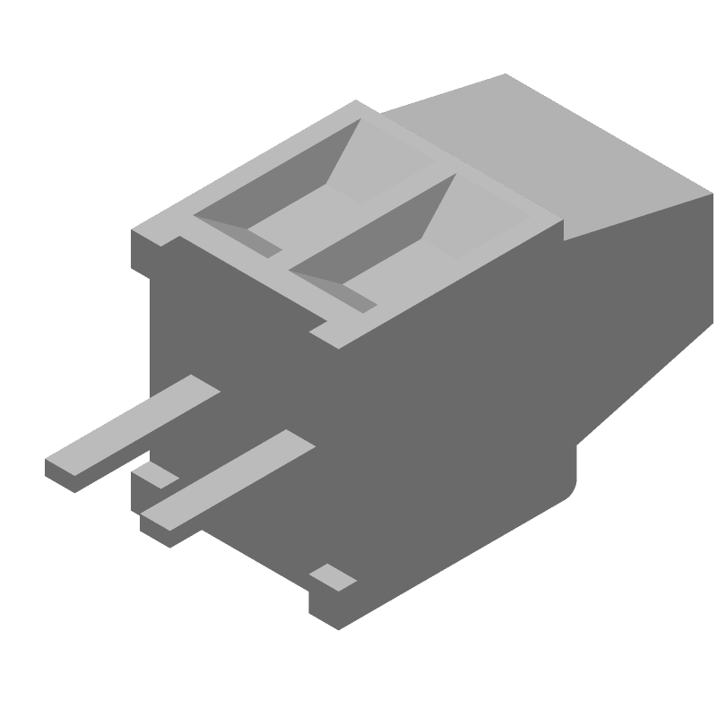 282834-2 - TE Connectivity - 3D model - Other - 282834-2_1