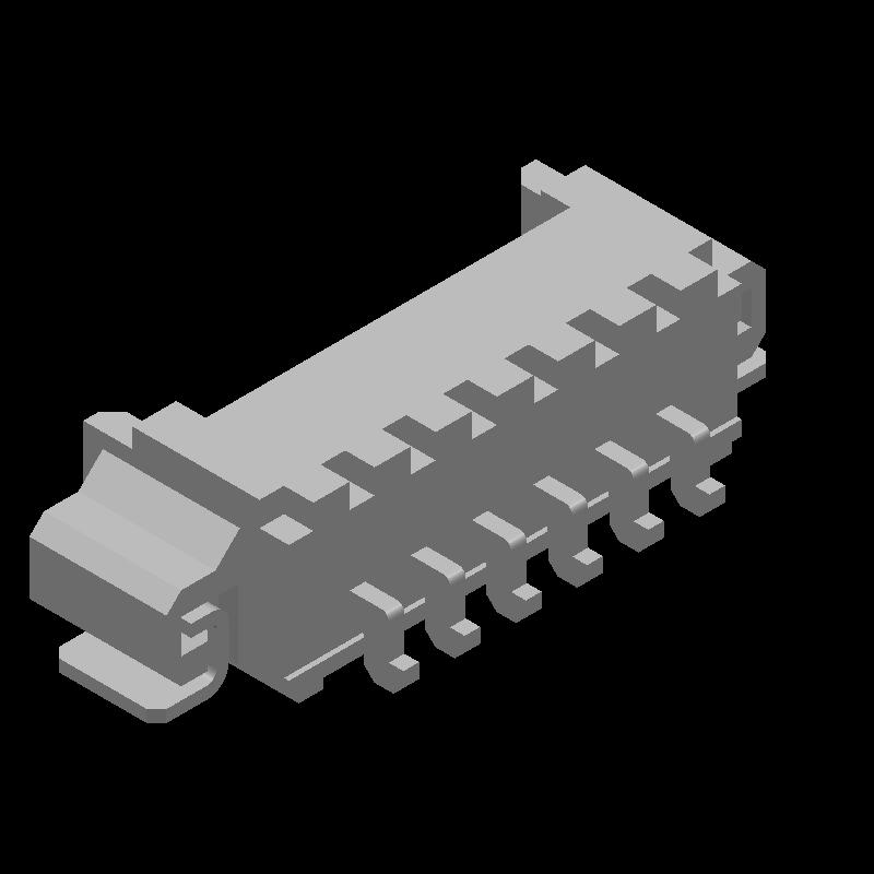 53261-0671 - Molex - 3D model - Other - 53261-0671