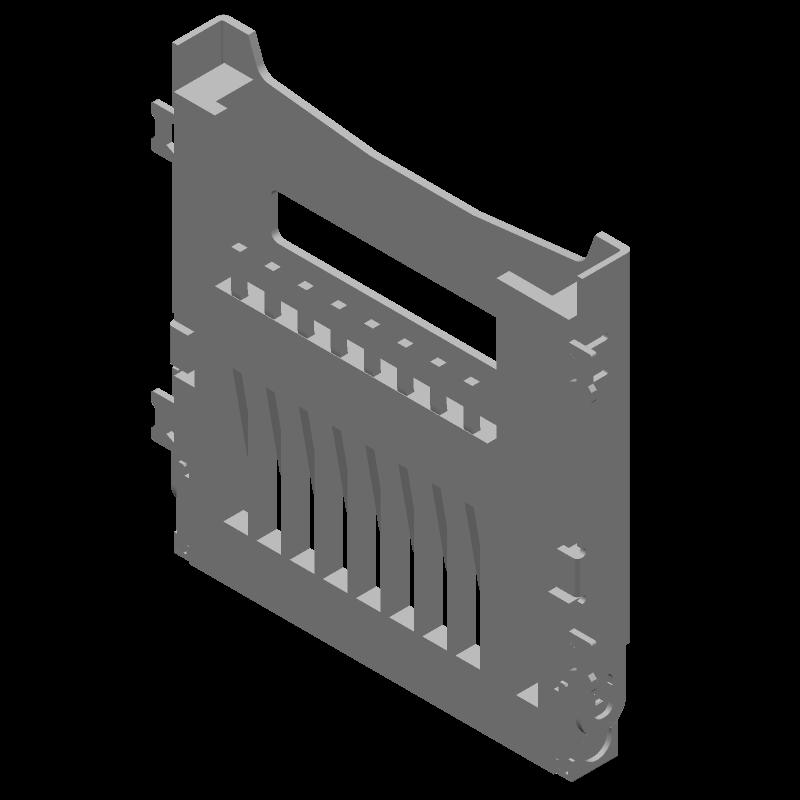47219-2001 - Molex - 3D model - Other - 47219-2001