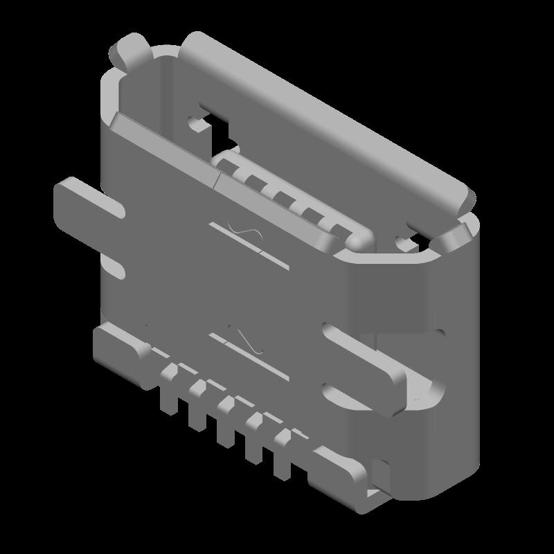 47346-0001 - Molex - 3D model - Other - 47346-0001
