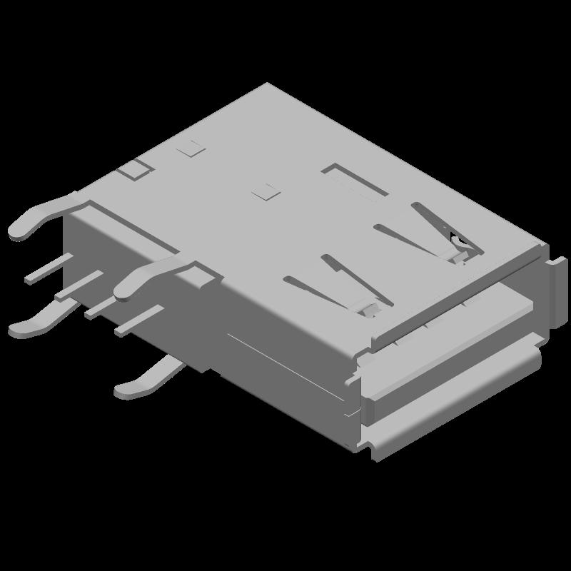 48204-0001 - Molex - 3D model - Other - 48204-0001_1