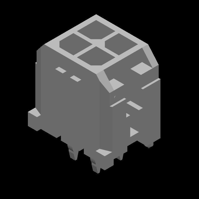 43045-0412 - Molex - 3D model - Other - 43045-0412