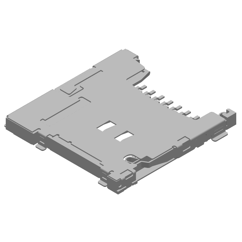 503182-1852 - Molex - 3D model - Other - 5031821852