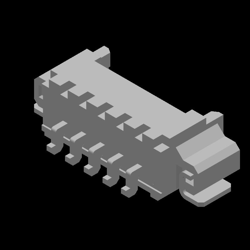 53261-0571 - Molex - 3D model - Other - 53261-0571