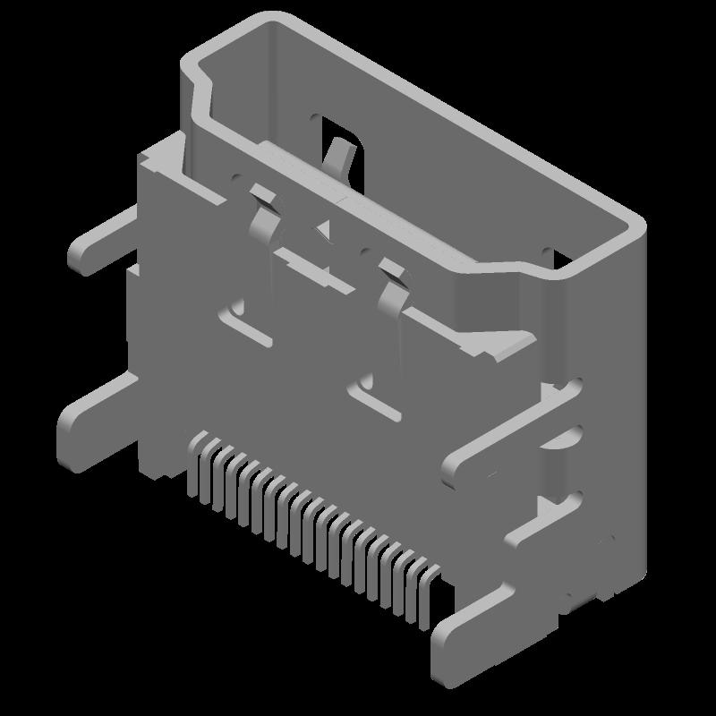 47151-0001 - Molex - 3D model - Other - 47151-0001