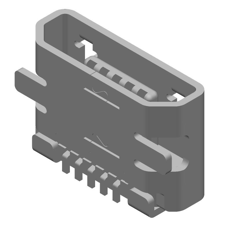 47346-1001 - Molex - 3D model - Other - 47346-0001
