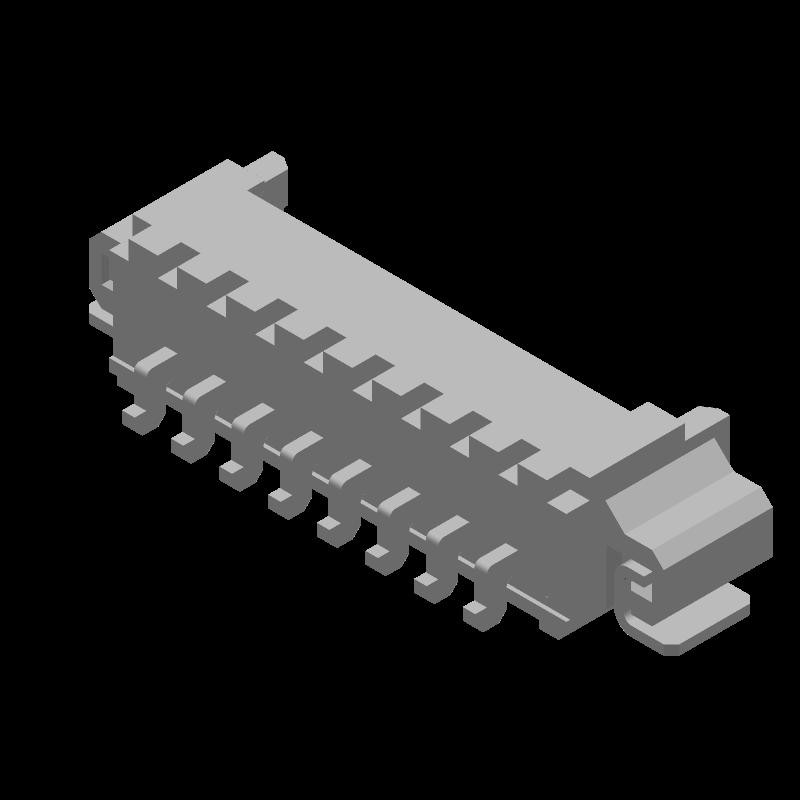 53261-0871 - Molex - 3D model - Other - 53261-0871