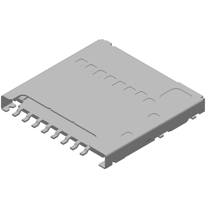 104031-0811 - Molex - 3D model - Other - 1040310811