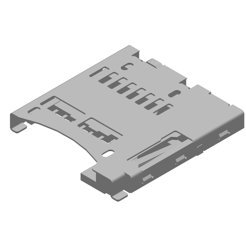 47334-0001 - Molex - 3D model - Other - 47334-0001-2