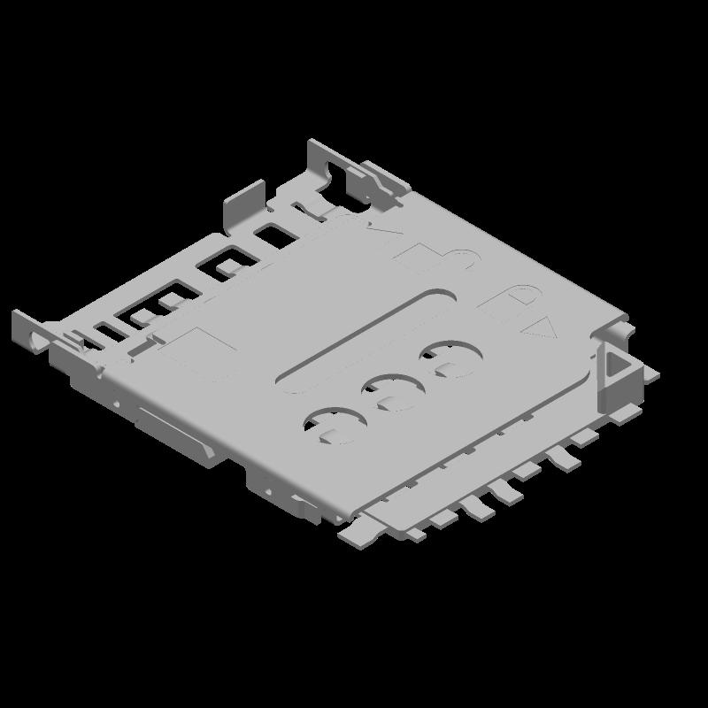 78800-0001 - Molex - 3D model - Other - 78800-0001
