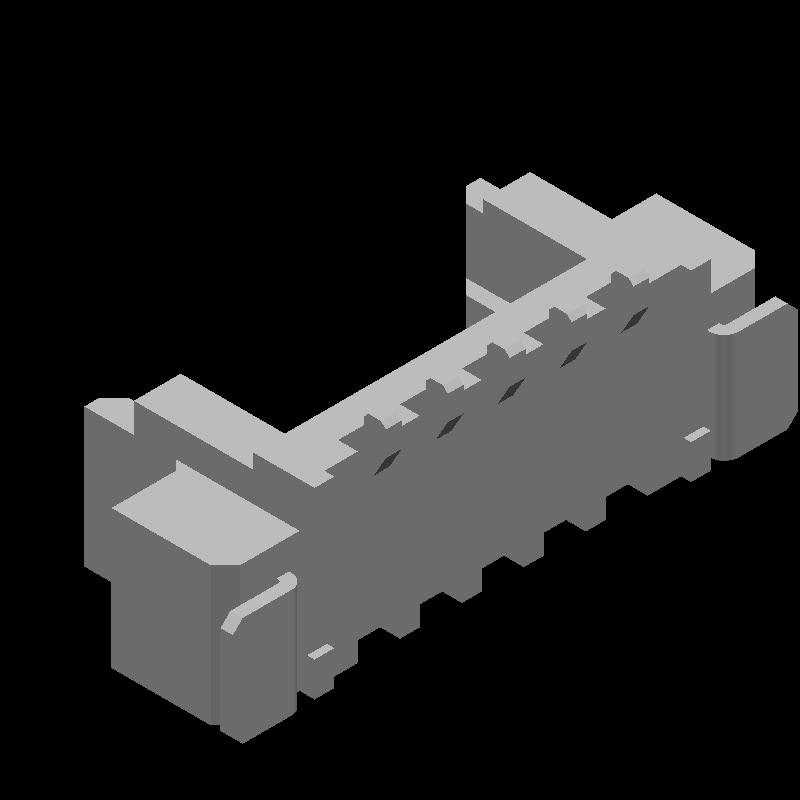 53398-0571 - Molex - 3D model - Other - 53398-0571