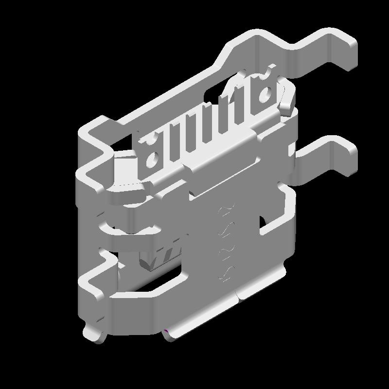 10103593-0001LF - Amphenol - 3D model - Other - 10103593-0001LF