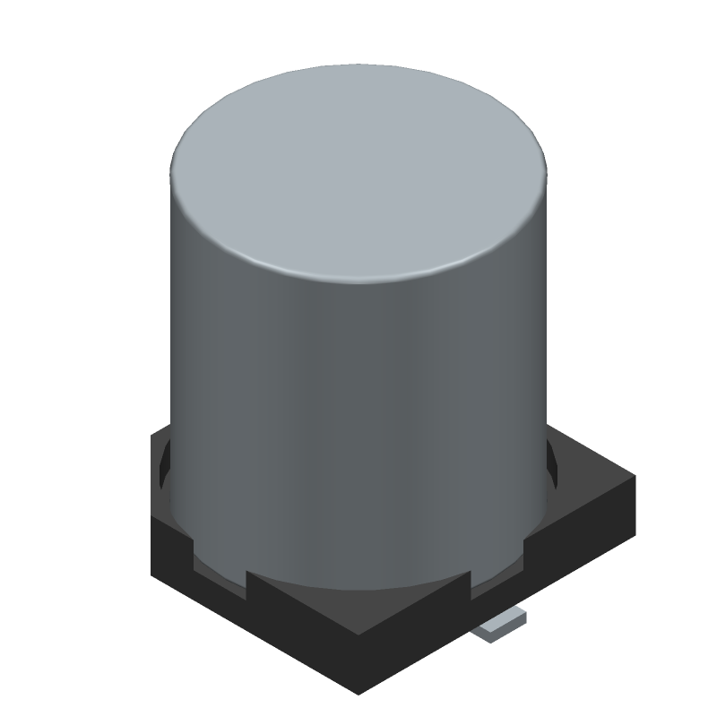 A767KN476M1HLAE029 - Kemet - 3D model - Capacitor Al Electrolytic - A767 (8.3 x 10)