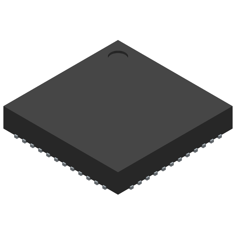 ESP32-D2WD - Espressif Systems - 3D model - Quad Flat No-Lead - QFN48 (5x5 mm)