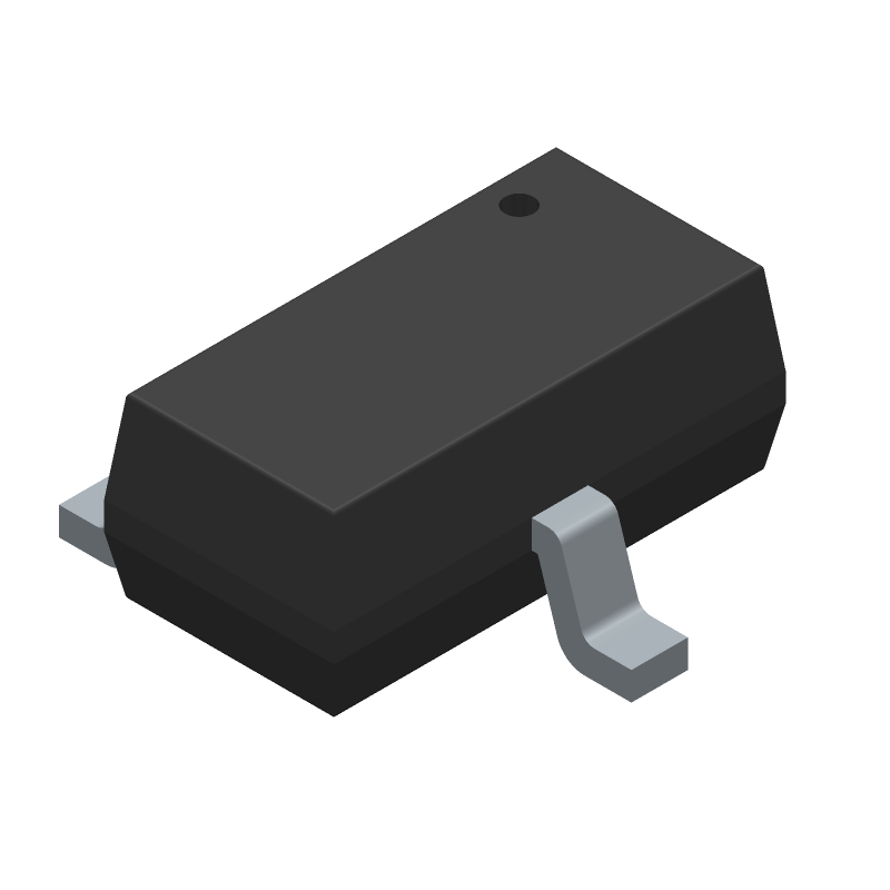 BSR302NL6327HTSA1 - Infineon - 3D model - SOT23 (3-Pin) - PG-SC59-1