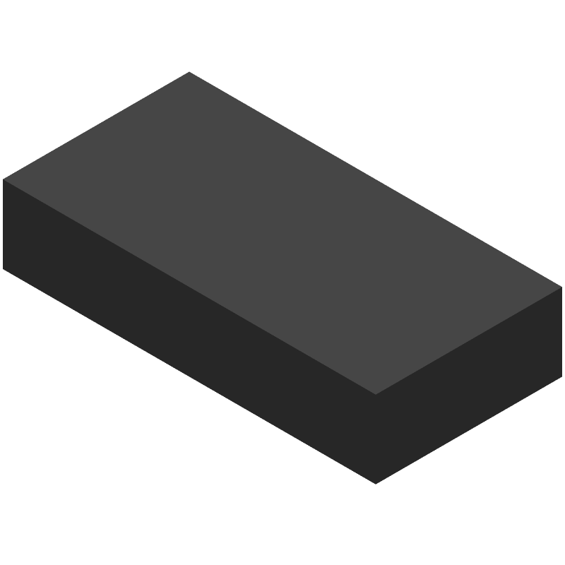 STMicroelectronics VL53L1CXV0FY/1 (Other) 3D model isometric projection.