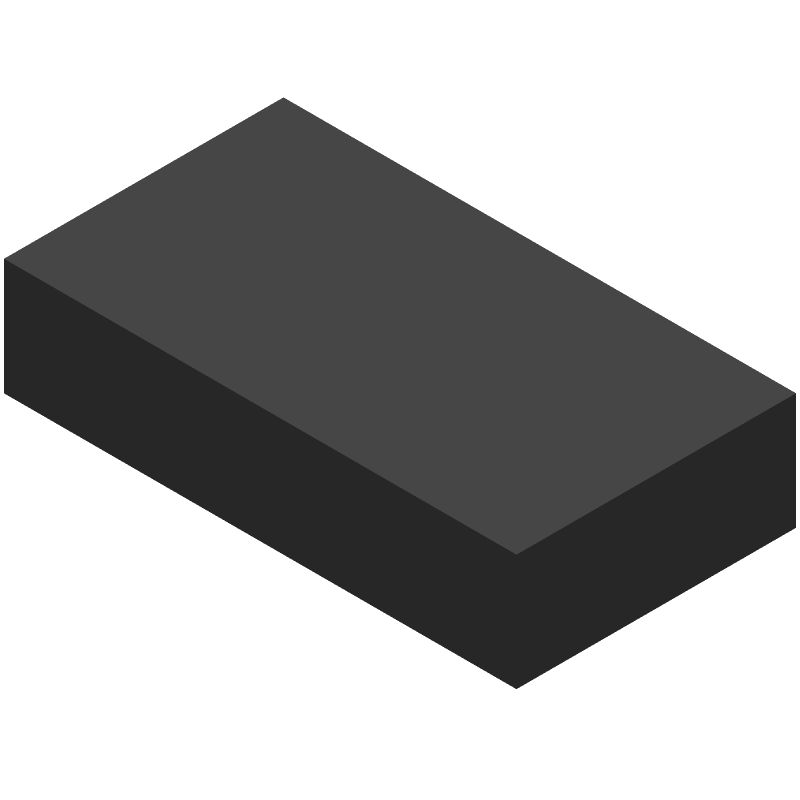 STMicroelectronics VL53L0X (Other) 3D model isometric projection.