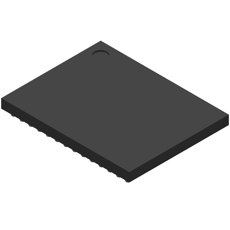 CDKWM8281-S-3 - Cirrus Logic - 3D model - BGA - 138 Ball W-CSP