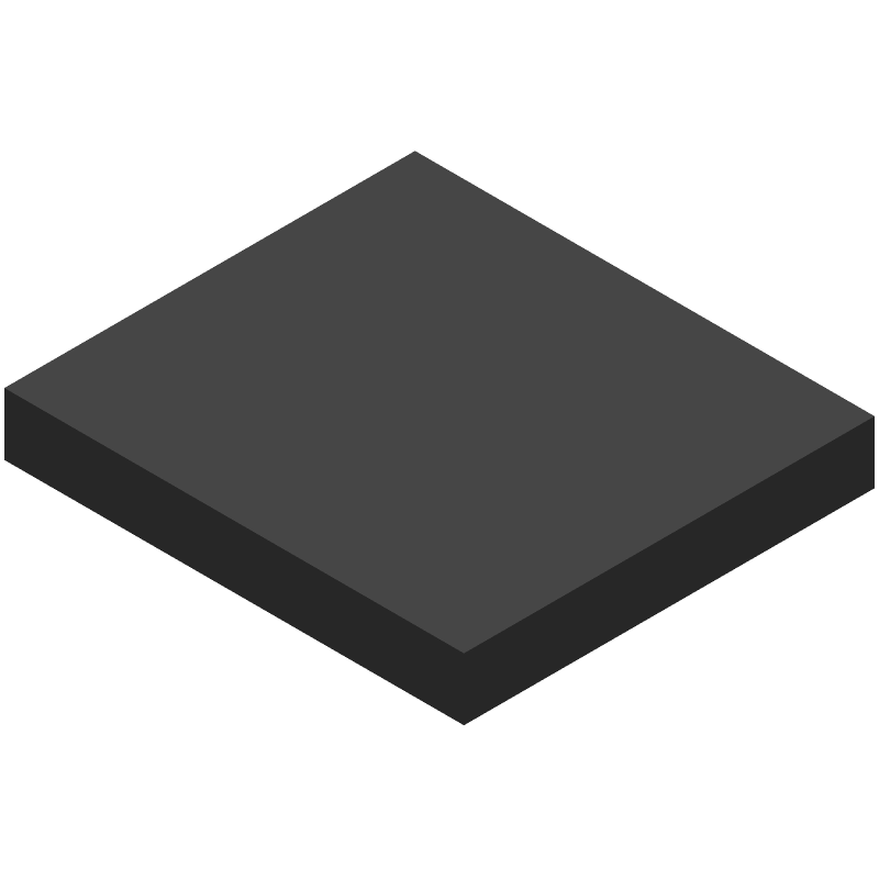 SIMCOM SIM800L (Other) 3D model isometric projection.