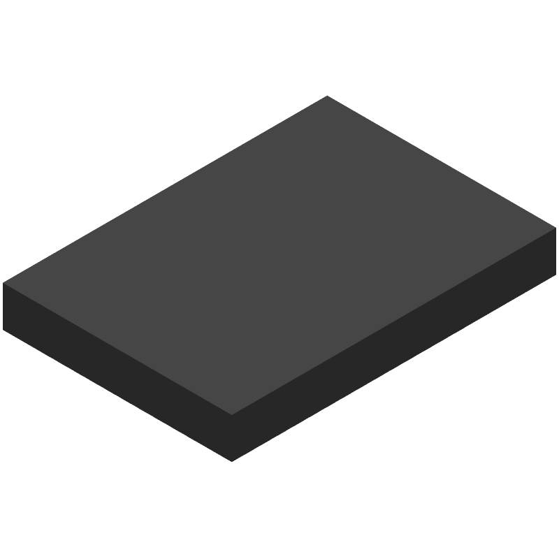 Espressif Systems ESP32-WROOM-32D(M113DH3200PH3Q0) (Other) 3D model isometric projection.