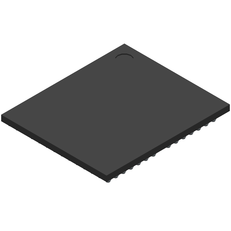 BCM4329FKUBGT - Cypress Semiconductor - 3D model - BGA - 182-Ball WLBGA Mechanical Information (5.62 mm x 6.57 mm, 0.4 mm Pitch)