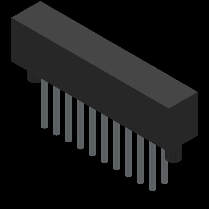 SFML-110-01-L-D-A - SAMTEC - PCB Footprint & Symbol Download