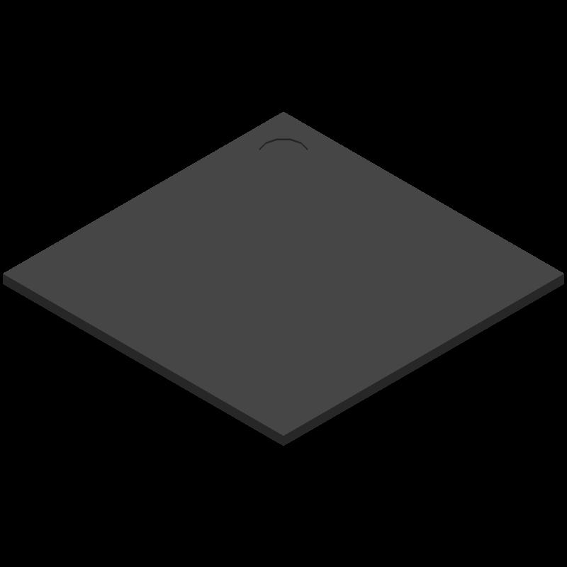 STM32H750IBK6 - STMicroelectronics - 3D model - BGA - UFBGA176+25, 10 × 10 × 0.61