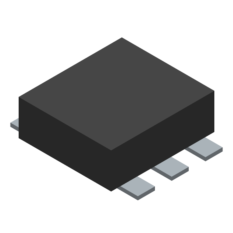 Fortune Semiconductor Corporation FS8205 (Other) 3D model isometric projection.