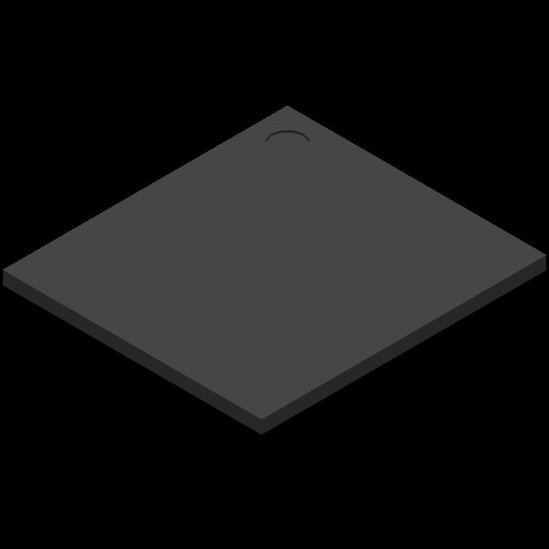 THGBMNG5D1LBAIT - Toshiba - 3D model - BGA - THGBMNG5D1LBAIT-1
