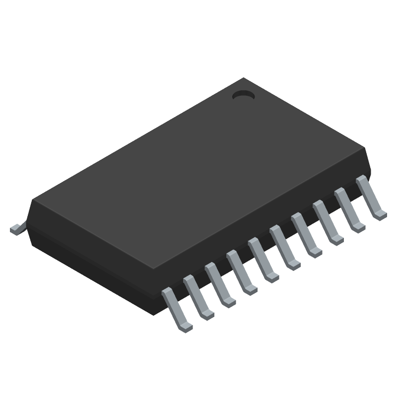 L293DD - STMicroelectronics - 3D model - Small Outline Packages - SO20
