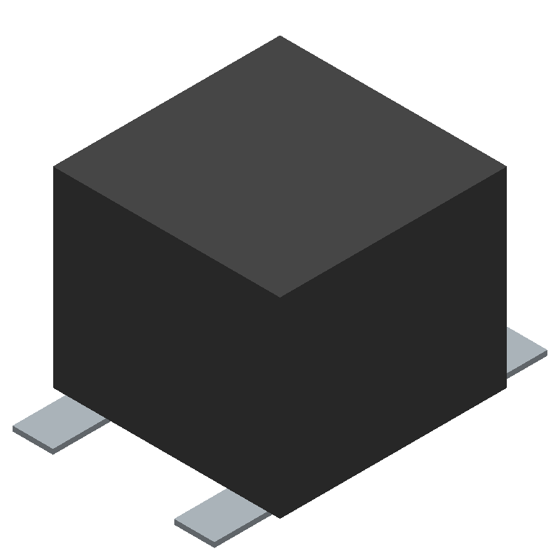 C&K Switches PTS647SM38SMTR2LFS (Other) 3D model isometric projection.