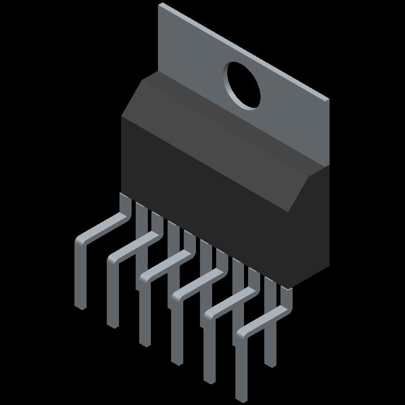 Tda7265 Stmicroelectronics Pcb Footprint Symbol Download