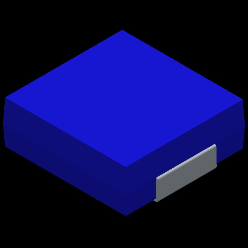 IHLP2525CZER2R2M01 - Vishay - 3D model - Inductors Precision Moulded - IHLP2525BDER1R5M01