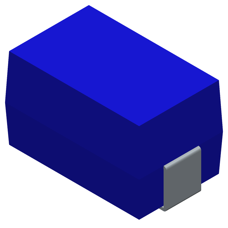35F0121-0SR-10 - Laird Performance Materials - 3D model - Inductor Moulded - 2-SMD, J-Lead