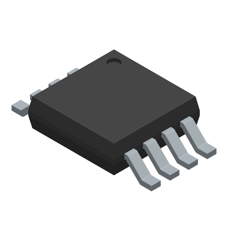 3D Model - ON Semiconductor - ADT7461ARMZ-R7