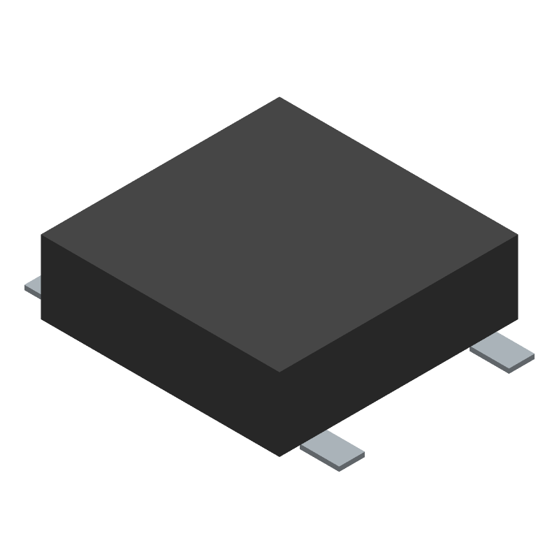 C & K COMPONENTS PTS526 SK08 SMTR2 LFS (Other) 3D model isometric projection.
