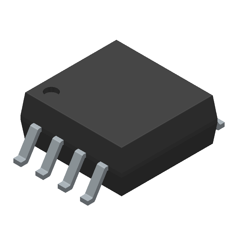 SN74LVC1G123DCTR - Texas Instruments - 3D model - Small Outline Packages - DCT (R-PDSO-G8)--1