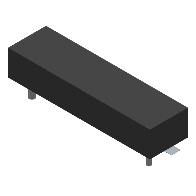 Keystone Electronics 1042P (Other) 3D model isometric projection.