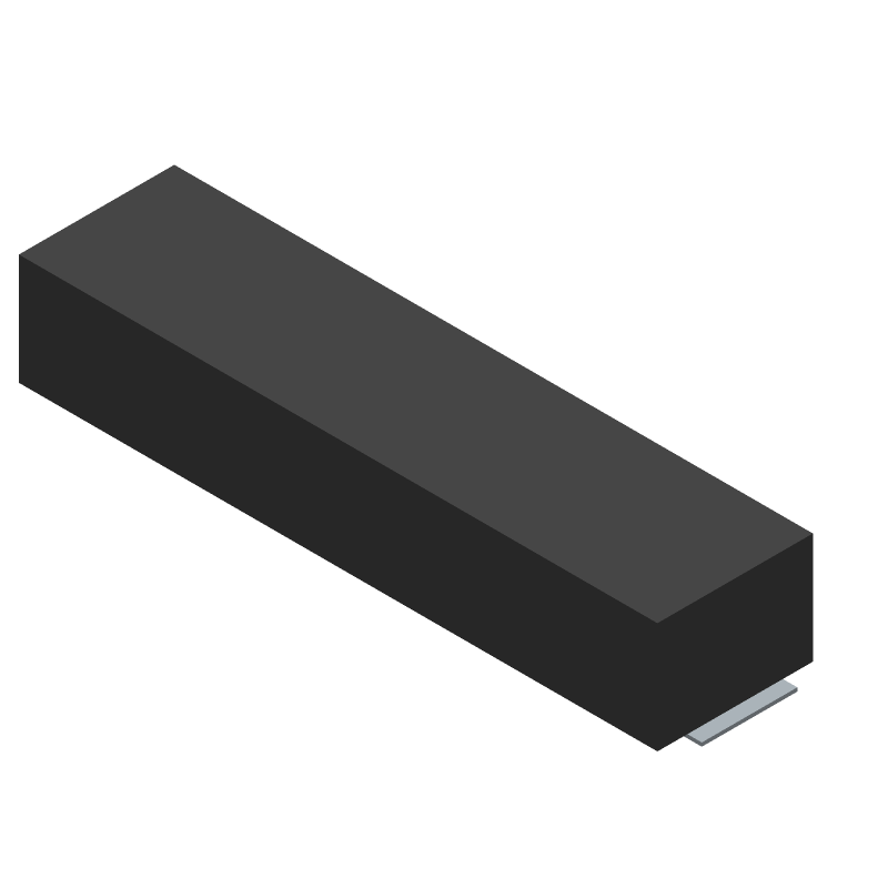 Molex 53261-1071 (Other) 3D model isometric projection.