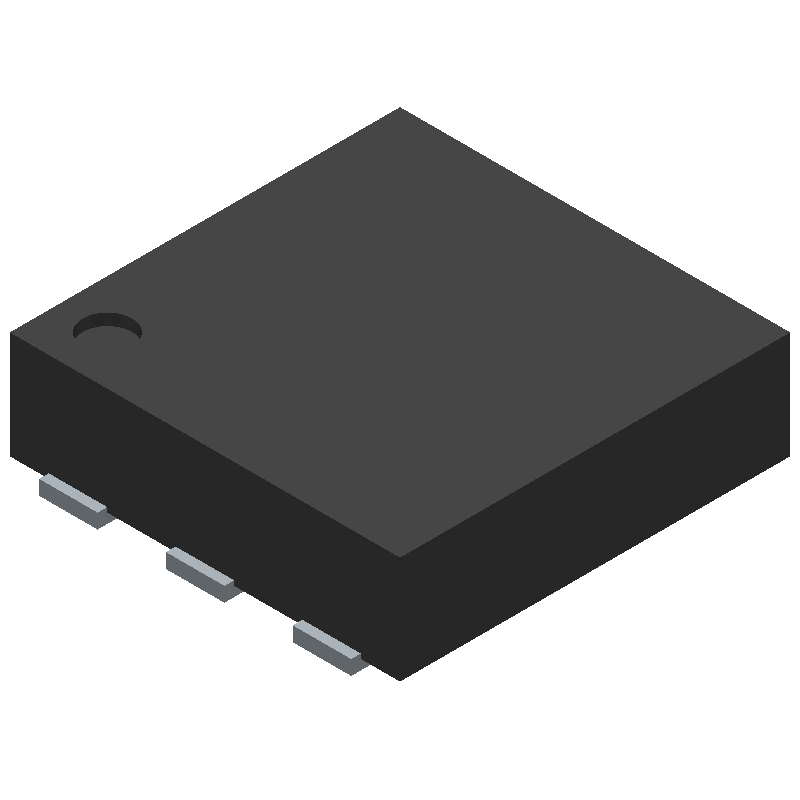 ADP1607ACPZN-R7 - Analog Devices - 3D model - Small Outline No-lead - CP-6-3_1