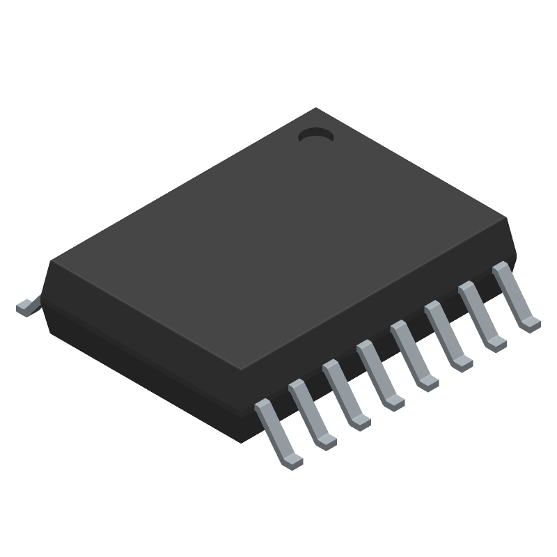 ADUM6000ARWZ - Analog Devices - 3D model - Small Outline Packages - RW-16 (SOIC)
