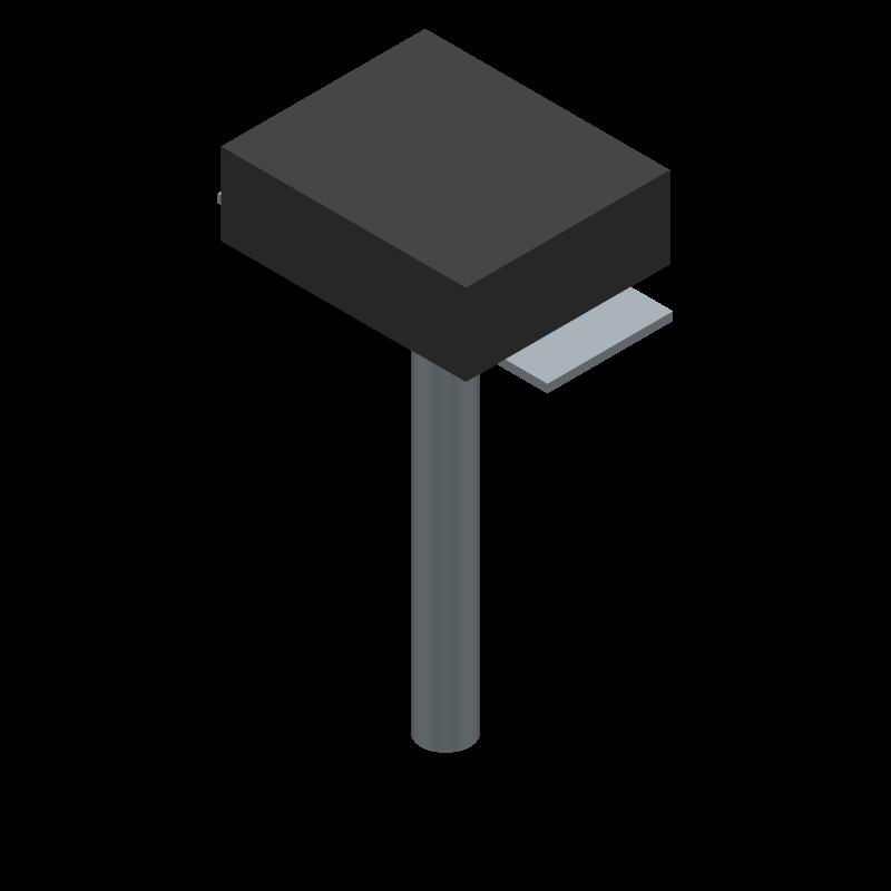 B3U-1000P-B - Omron Electronics - 3D model - Other - B3U-1000P-B