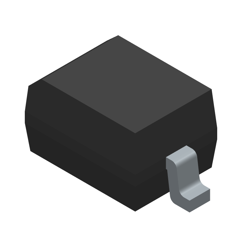 BAT60AE6327HTSA1 - Infineon - 3D model - Small Outline Diode - SOD323