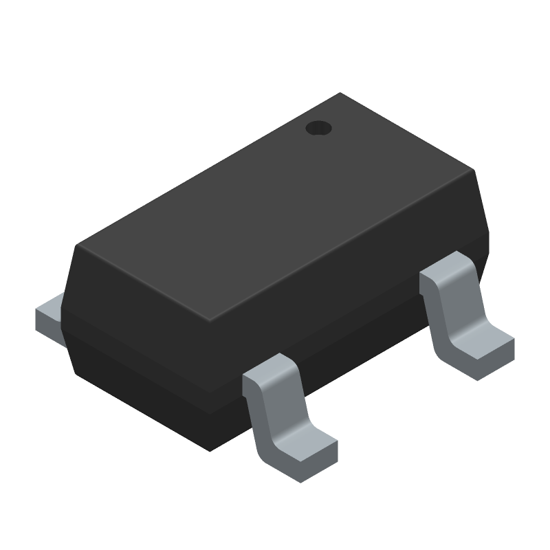 AP331AWG-7 - Diodes Inc. - 3D model - SOT23 (5-Pin) - SOT25_1