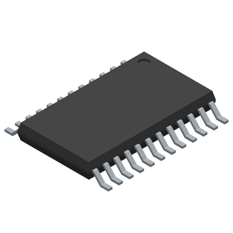 MAX11270EUG+ - Maxim Integrated - 3D model - Small Outline Packages - Max 21-0066_M (24 TSSOP)