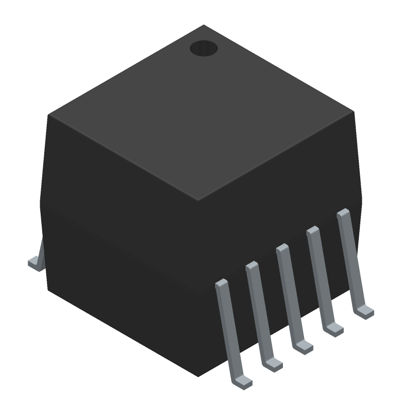 COILCRAFT FA2805-CLB (Small Outline Packages) 3D model isometric projection.