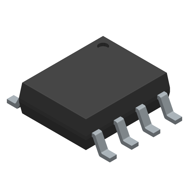 Diodes Inc. AP1609SG-13 (Small Outline Packages) 3D model isometric projection.