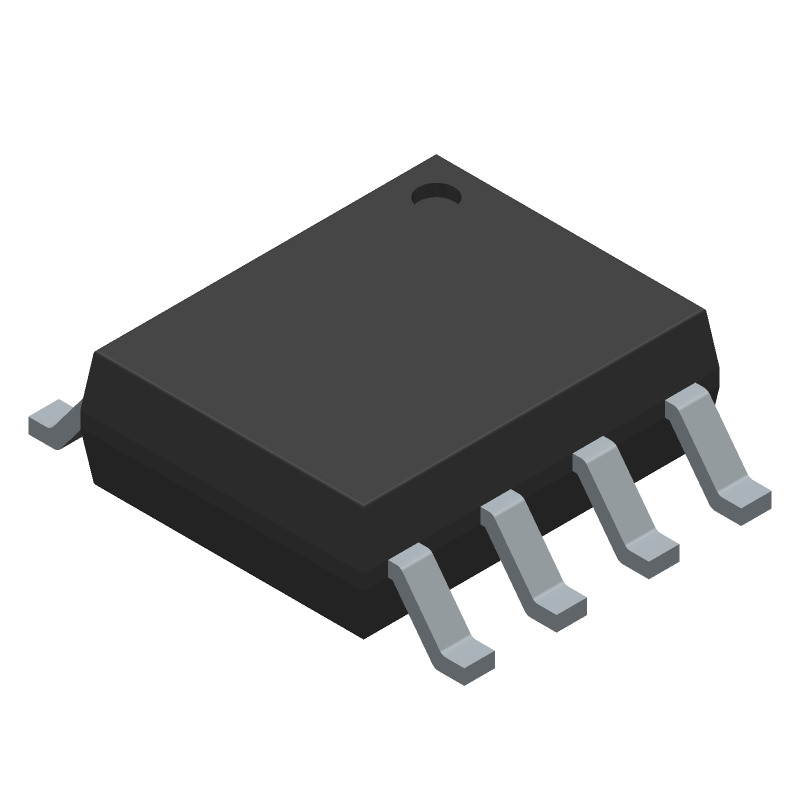 MP1584EN-LF - Monolithic Power Systems (MPS) - 3D model - Small Outline Packages - MP1584EN-LF-1